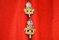 British Army. Royal Army Educational Corps Genuine Officer's Collar Badges