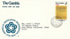 1976 Gambia Fdc Cachet Cover - American Revolution