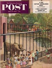 1953 Saturday Evening Post July 25 - Mobster Greasy thumb Guzik; Australia ails