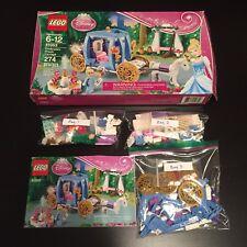 VGUC Lego Disney Princess Cinderella's Dream Carriage 41053 complete minifig box
