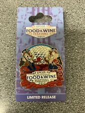 New ListingDisney Epcot 2013 Food And Wine Festival Chip And Dale Pin