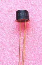 2 Pcs 2N489 GE Historic Unijunction Transistor NOS US Seller General Electric