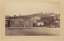 Lucerne Luzern Suisse Schweiz Photo A. Braun albumine ca 1865
