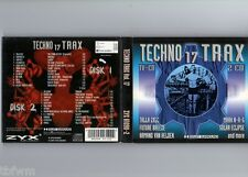 Techno Trax Vol. 17 - 2CD - TRANCE HARD TRANCE TECHNO ACID