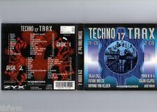 Techno Trax Vol. 17 - 2CD - TRANCE HARD TRANCE TECHNO ACID