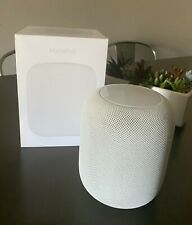 Perfect Condition Apple HomePod White + Original Packaging + Leather Coaster