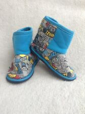 Thomas The Tank Engine Slippers size 6/7.Thomas Slipper Boots.Used.