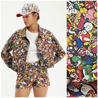 Levi's x Super Mario Limited Edition Cropped Trucker Jacket | Women's Size XL