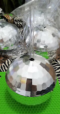 Fabulous Disco Ball 12 oz cups with straw by Kheper Games Set of 3