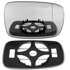 Right Driver side wing door mirror glass for Renault Megane II 02-08