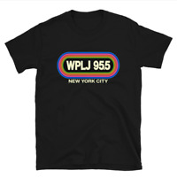 WPLJ 95.5 New York City T-Shirt Funny Birthday Cotton Tee Vintage Gift Men Women