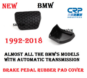 Brake Pedal Rubber Pad With Auto Transmission For BMW E36 E34 E39 E46 E90 E60