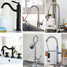 Modern Swivel ORB Kitchen Basin Sink Faucet Pull Down Steam Bathroom Deck Mount