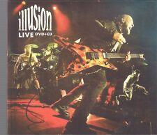 ILLUSION - LIVE 2012 CD & DVD LIPA LIPALI TOP RARE OOP CD SHE ARMIA FLAPJACK TSA