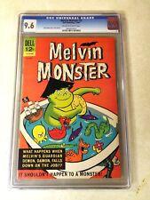 MELVIN MONSTER #2 CGC 9.6 NM+, GUARDIAN DEMON, 1965, DELL, BATHTUB COVER