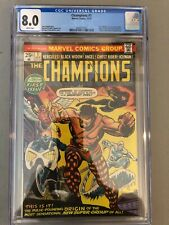 Champions #1--CGC 8.0--Origin and 1st appearance of the Champions!