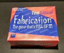 Fabrication First Edition Game Chuckle Games