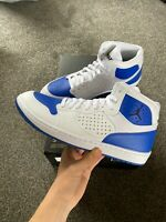 NIKE AIR JORDAN ACCESS - UK 12/US 13/EUR 47.5 - WHITE/BLUE (AR3762-104)