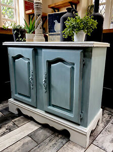 Shabby Chic Sideboard Hand Painted In Annie Sloan