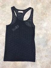 Abercrombie Kids Girls Blue Sleeveless Geometric Swim Cover Tank Top Sz XL