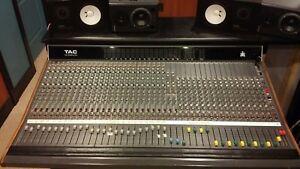 TAC Scorpion Analog Console Mixing Board