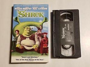SHREK BIG BOX VHS TAPE SPECIAL EDITION VIDEOCASSETTE MIKE MEYERS EDDIE MURPHY