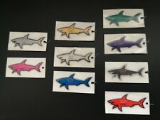 9x PAUL & SHARK yachting Hai Shark Requin Sticker Stickers Aufkleber - NEU & OVP