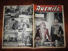 """FOTOROMANZO """"DUEMILA"""" SETTIMANALE DI AVVENTURE NUMERO 40 DEL 7 OTTOBRE 1951"""