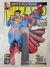 WIZARD Comics Magazine #92 APRIL 2000 ORIGINAL KEVIN MAGUIRE COVER! SUPERMAN