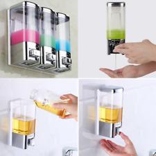 1pcs Bathroom Shampoo Liquid Soap Dispenser Wall Mounted  Pump Bottles Shower