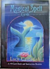 Magical Spell Cards - Lucy Cavendish - Sealed - Rare - Occult Healing Magic