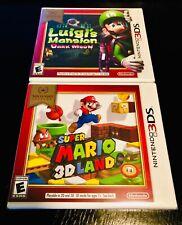 Super Mario 3D Land & Luigi's Mansion Dark Moon (NINTENDO 3DS) BRAND NEW SEALED