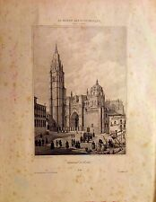 TOLEDO,Catedral de Toledo, Lit. original, Asselineau,1860.