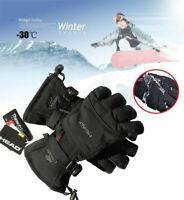 Windproof Gloves Ski Snowboard Warm Winter Kids Snow Waterproof Adult Sports NEW