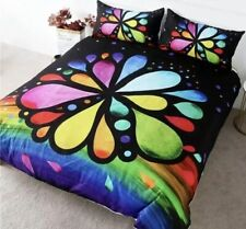 New Rainbow Chakra Flower Twin duvet Comforter cover 173X213cm
