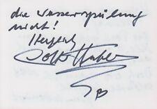 LOTTI HUBER --- original signiert - 7#9