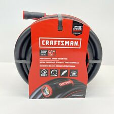 Craftsman 5/8 inch 100ft Premium Rubber Garden Hoses