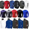Men Compression Base Layer Skin Long Sleeve Fitness Thermal Tight T-Shirt Top