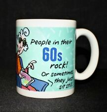 Maxine People In Their 60s Rock Hallmark Birthday Mug Dishwasher Microwave Safe