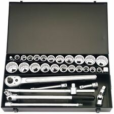 """Elora 3/4"""" Square Drive Metric And Imperial Socket Set (31 Piece) 00335"""