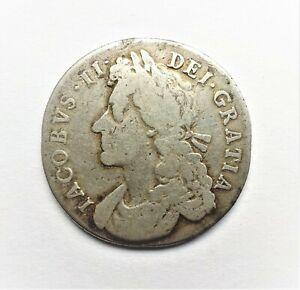 James II 1685 Shilling
