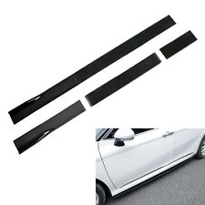 3pc Set Universal Fit Length Adjustable Side Skirt Winglet Diffusers For Car