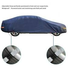 FOR All Weather YL Car Cover Water Dust UV Resistant Universal Fit Outdoor