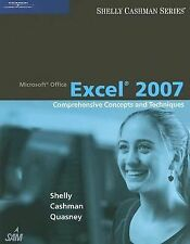 Microsoft Office Excel 2007: Comprehensive Concepts and Techniques-ExLibrary