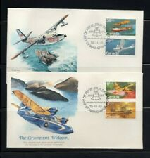 Canada 843-846 Fdc Aircraft 6 Covers