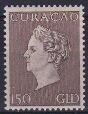 Curaçao 1948 Koningin Wilhelmina 1.50 gld grijsbruin ongestempeld NVPH 195