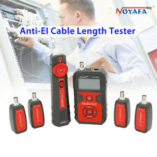 NOYAFA NF-858C LCD Display Anti-EL Cable Wire Network Length Tester Portable AP7
