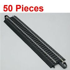"Bachmann 44481 9"" Straight E-Z HO Train Track (50 Pieces)"
