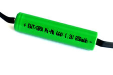 4 Pack AAA 1.2V 850/800 mAh NiMH Rechargeable Battery With Tabs for shavers, etc