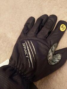 Spakct Winter Cycling Gloves (Full Finger), Black, SizeXLarge - Brand New